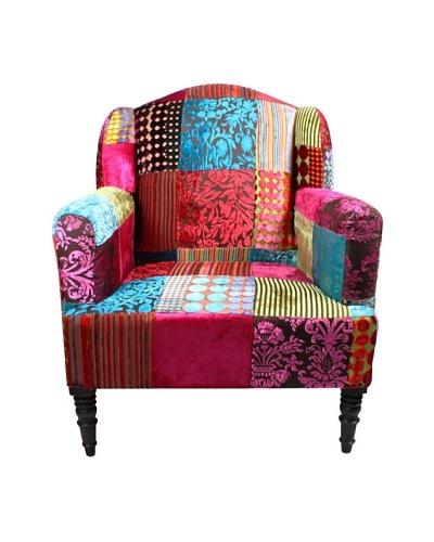 Melange Home Maharaja Chair, Multi