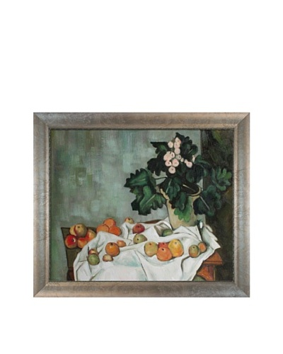 Paul Cézanne Still Life with Apples and a Pot of Primroses, ca. 1890As You See