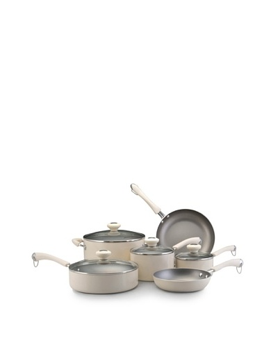Paula Deen Traditional Porcelain 10-Piece Set [Oatmeal]