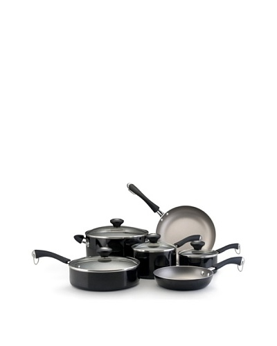 Paula Deen Traditional Porcelain 10-Piece Set [Black]