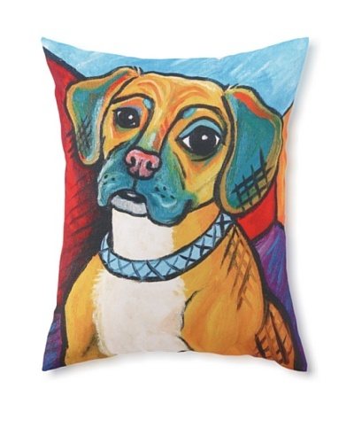 Pawcasso Puggle Pillow