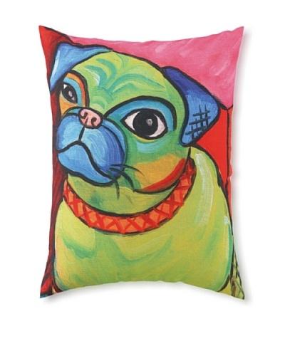 Pawcasso Pug Pillow