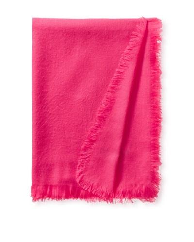 pür by pür cashmere Tissu Tissu Throw, Pink Flamingo