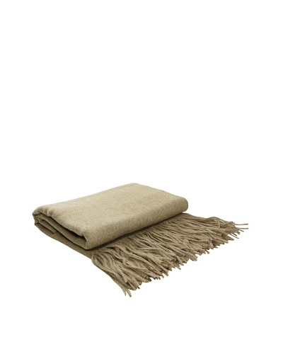 pür cashmere Merino Wool Throw