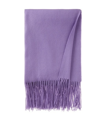 pür cashmere Signature Throw, Wisteria, 50 x 65