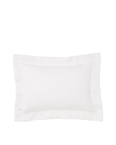 Peacock Alley Villa Matelassé Boudoir Pillow [White]