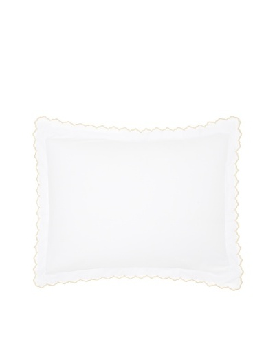 Peacock Alley Luxury Linens Calypso 400-Thread-Count 100-Percent Egyptian Cotton Percale Pillow Sham...