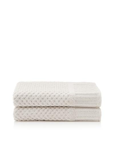 Peacock Alley Set of 2 Monaco Bath Towels [Linen]