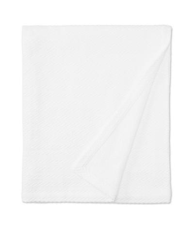 Peacock Alley Hampton Egyptian Cotton Blanket [White]