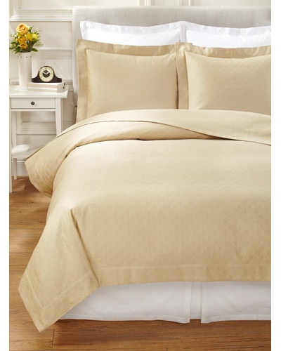 Peacock Alley Sofia Matelassé Coverlet Set [Champagne]