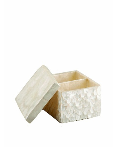 Pearl Dragon Wings Ammenities Box [White]
