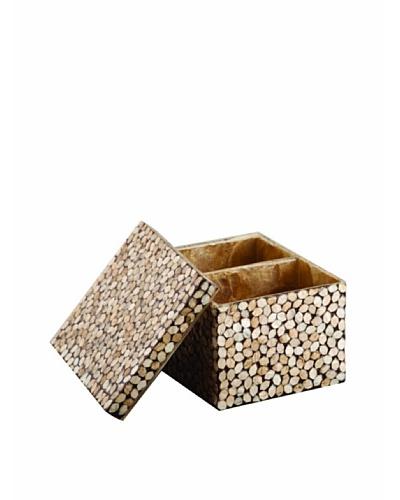 Pearl Dragon Gold Hexagonal Ammeneties Box
