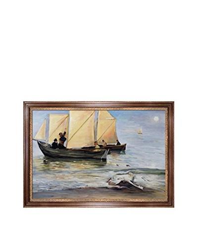 Peder Severin Kroyer Fishingboats Oil Painting,