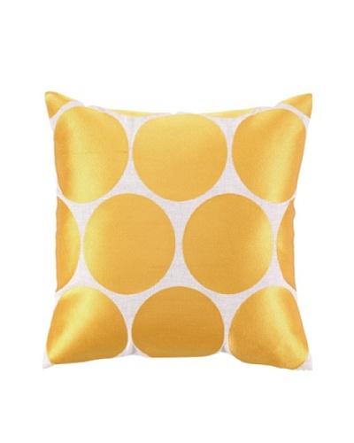Peking Handicraft Erin Pillow, Gold