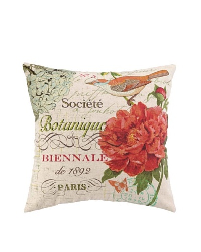 Peking Handicraft Societe Botanique Pillow