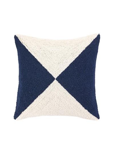 Peking Handicraft Nautical Flag Hook Pillow