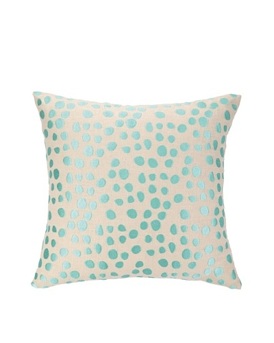 Peking Handicraft Pebble Parade Pillow, Ocean