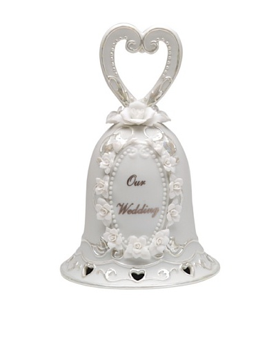 Perfect Wedding Our Wedding Hand-Made Porcelain Bell
