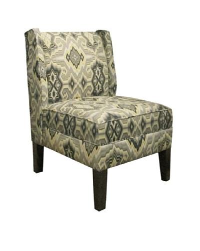Skyline Wingback Chair, Pebble