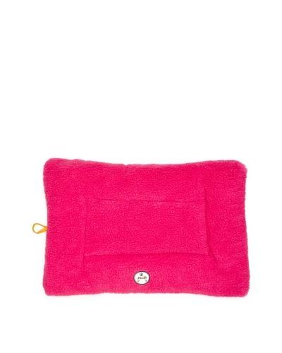 Pet Life Eco-Paw Reversible Pet Bed, Pink/Orange, Medium