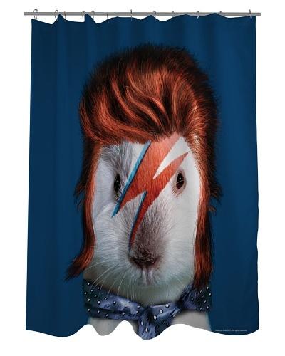 Pets Rock Glam Rock Shower Curtain