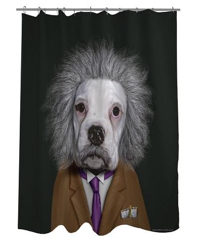 Pets Rock Brain Shower Curtain