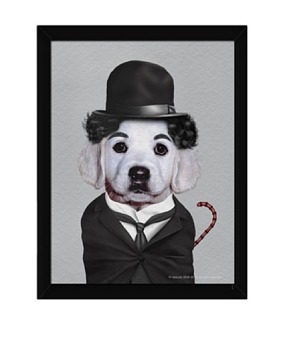 Pets Rock Tramp Framed Art
