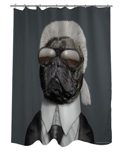 Pets Rock Fashion Shower Curtain
