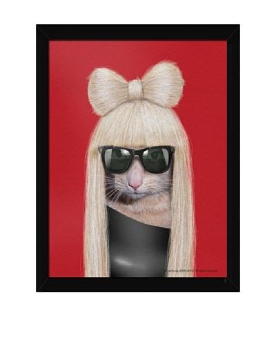 """Pets Rock """"GG"""" Framed Art"""