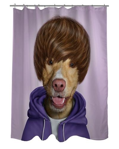 Pets Rock Teen Shower Curtain