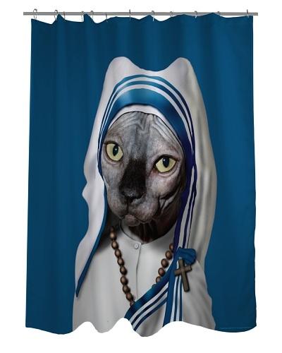 Pets Rock Calcutta Shower Curtain
