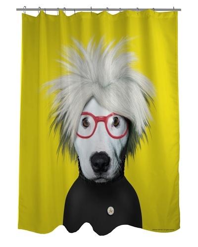 """Pets Rock """"Soup"""" Shower Curtain"""