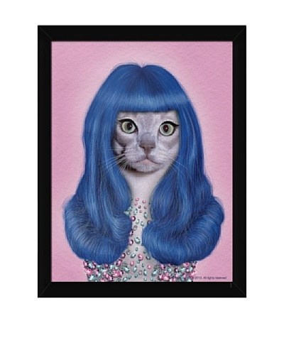 "Pets Rock ""Gurl"" Framed Art"