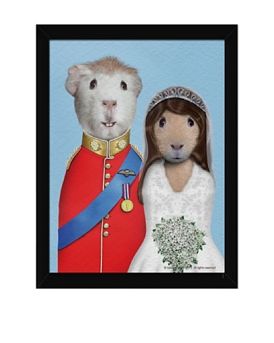 "Pets Rock ""Mr. & Mrs."" Framed Art"