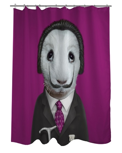 """Pets Rock """"Surreal"""" Shower Curtain"""