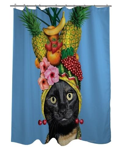 Pets Rock Fruit Shower Curtain