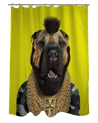 Pets Rock Fool Shower Curtain