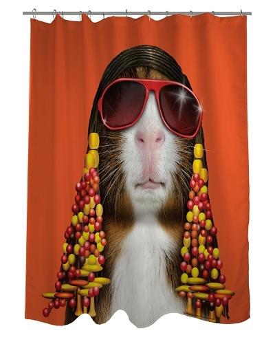Pets Rock Funk Shower Curtain