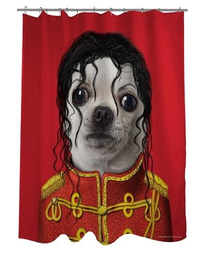 "Pets Rock ""Pop"" Shower Curtain"