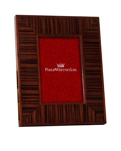 Philip Whitney Zebra Thick Wood Frame