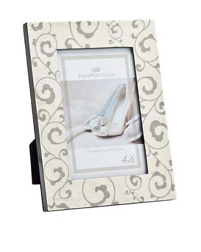 Philip Whitney Bridal Scroll Vines Frame