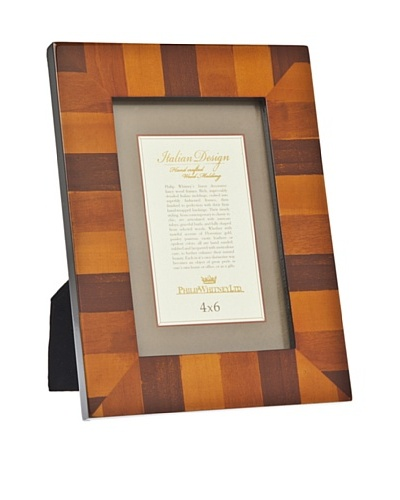 Philip Whitney Multi-Tone Marquetry Inlay Frame