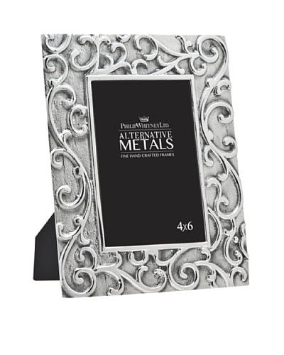 """Philip Whitney Aluminum Scroll 4""""x6"""" Frame"""