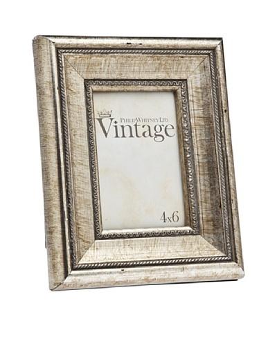 Philip Whitney Vintage Champagne & Black 4x6 Frame