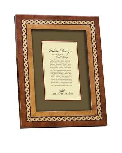 Philip Whitney X Design Marquetry Inlay 5x7 Frame