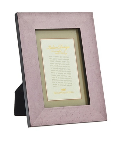 Philip Whitney Lavender Burl Marquetry 5x7 Frame
