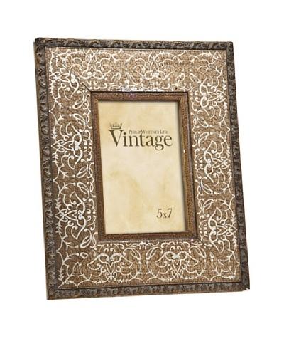 Philip Whitney Vintage Gold Scroll Frame