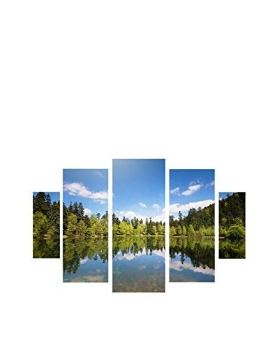 Philippe Sainte-Laudy Lake Maix 5-Panel Art Set, 43 x 34