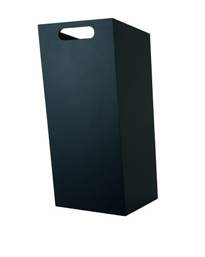 Philippi Box Wastepaper Basket, Black, Small