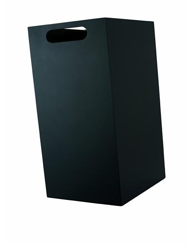 Philippi Box Wastepaper Basket, Black , Large